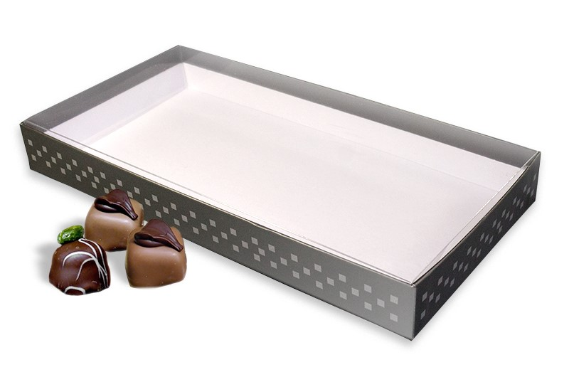 Boxes with clear lid