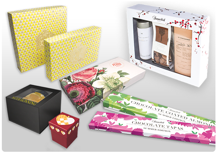<B>Packaging for foods and chocolate.</B>